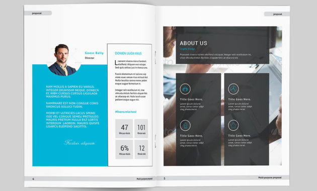 Indesign Business Proposal Template On Behance pertaining to Fresh Business Proposal Template Indesign