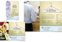Laundry & Dry Cleaners Flyer & Ad Template – Word & Publisher within Amazing Free Laundromat Business Plan Template