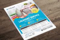 Laundry Services Flyermuhammad Irvan On Dribbble regarding Free Laundromat Business Plan Template