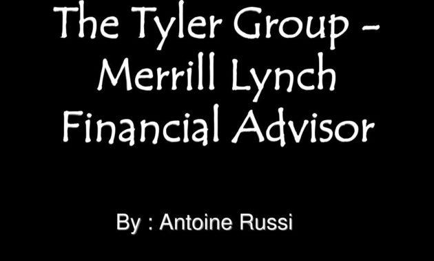 Ppt – The Tyler Group – Merrill Lynch Financial Advisor throughout Fresh Merrill Lynch Business Plan Template