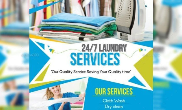 Premade Flyer Templates within Free Laundromat Business Plan Template