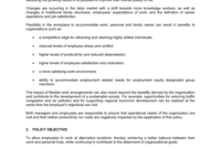 Telework Policy Template  Business-In-A-Box™ for Business In A Box Templates