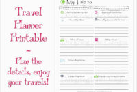 [View 27+] Download Business Travel Itinerary Template in Business Travel Itinerary Template Word